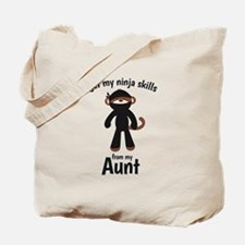 Monkey Ninja - Get Skills from my Aunt Tote Bag