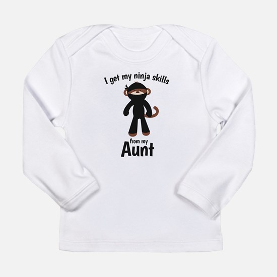 Monkey Ninja - Get Skills from my Aunt Long Sleeve