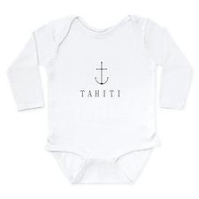 Tahiti Sailing Anchor Body Suit