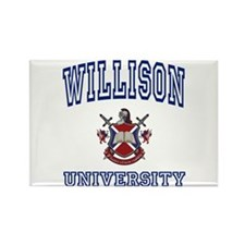 WILLISON University Rectangle Magnet
