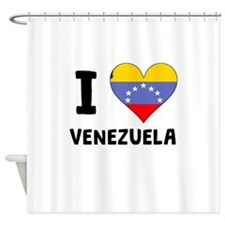 I Heart Venezuela Shower Curtain