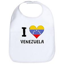 I Heart Venezuela Bib