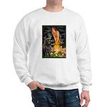 Fairies & Newfoundland Sweatshirt