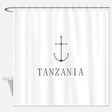 Tanzania Sailing Anchor Shower Curtain