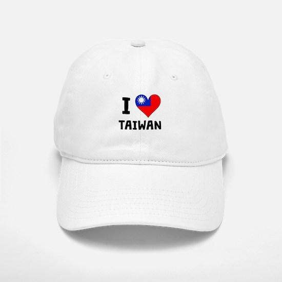 I Heart Taiwan Baseball Baseball Baseball Cap