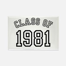 Class of 1981 Rectangle Magnet (10 pack)