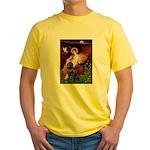 Angel & Newfoundland Yellow T-Shirt