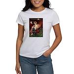 Angel & Newfoundland Women's T-Shirt