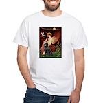 Angel & Newfoundland White T-Shirt