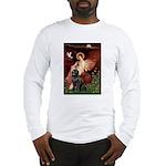 Angel & Newfoundland Long Sleeve T-Shirt