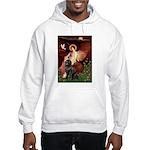 Angel & Newfoundland Hooded Sweatshirt
