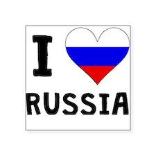 I Heart Russia Sticker