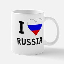 I Heart Russia Mugs