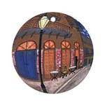 Pirates Alley Art Round Ornament