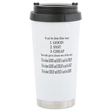Unique Manufacturing Travel Mug