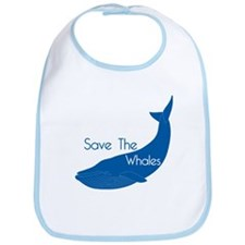 Save The Whales Blue Whale cause Bib