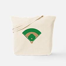 Baseball Field Tote Bag
