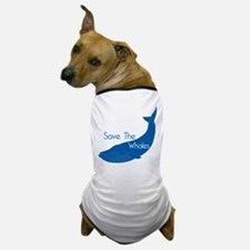 Save The Whales Blue Whale cause Dog T-Shirt