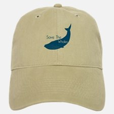 Save The Whales Blue Whale cause Baseball Baseball Cap