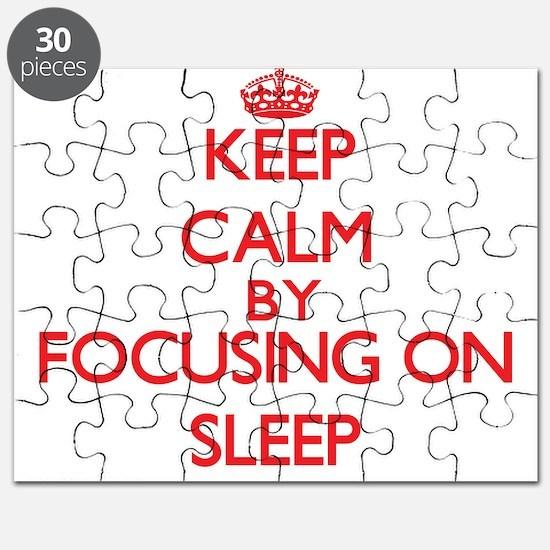 Keep Calm by focusing on Sleep Puzzle