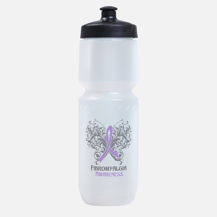 Fibromyalgia Awareness Sports Bottle