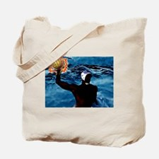 Waterpolo Man Tote Bag