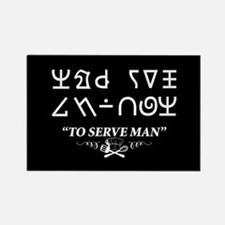 To Serve Man Cookbook Twilight Zone Magnets