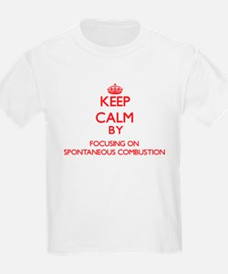 Keep Calm by focusing on Spontaneous Combu T-Shirt