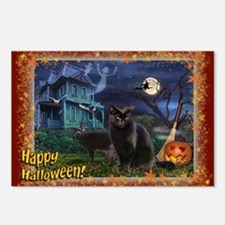 Postcards (package Of 8) Happy Halloween