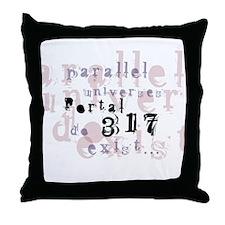 Portal 317 Throw Pillow