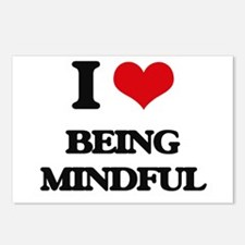 I Love Being Mindful Postcards (Package of 8)