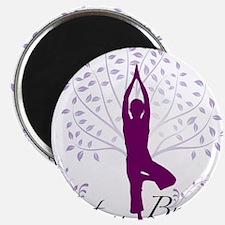 "Cute Yoga 2.25"" Magnet (100 pack)"