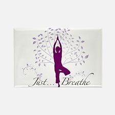 Unique Yoga Rectangle Magnet (100 pack)