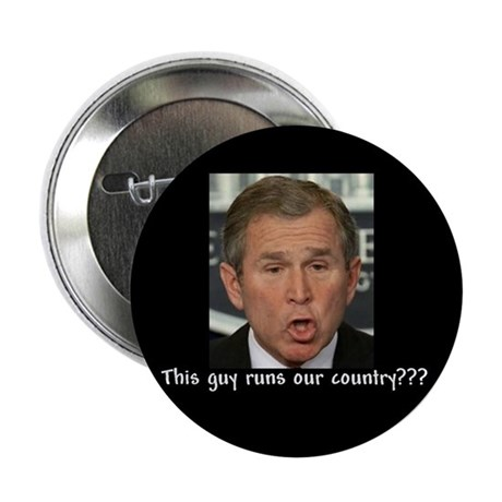 This guy runs our country? Button
