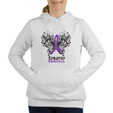Epilepsy Awareness Women's Hooded Sweatshirt