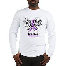 Epilepsy Awareness Long Sleeve T-Shirt