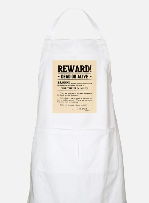 Northfield Bank Robbery BBQ Apron