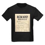 Northfield Bank Robbery Kids Dark T-Shirt