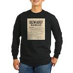 Northfield Bank Robbery Long Sleeve Dark T-Shirt