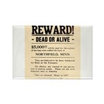Northfield Bank Robbery Rectangle Magnet (100 pack