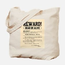 Northfield Bank Robbery Tote Bag