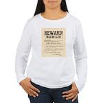Northfield Bank Robbery Women's Long Sleeve T-Shir