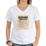 Northfield Bank Robbery Women's V-Neck T-Shirt