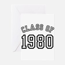Class of 1980 Greeting Cards (Pk of 10)