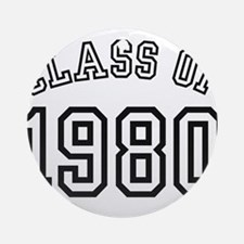 Class of 1980 Ornament (Round)