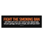 Smoking Ban sticker