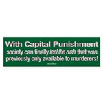Capital Punishment sticker