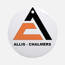 ALLIS-CHALMERS Ornament (Round)