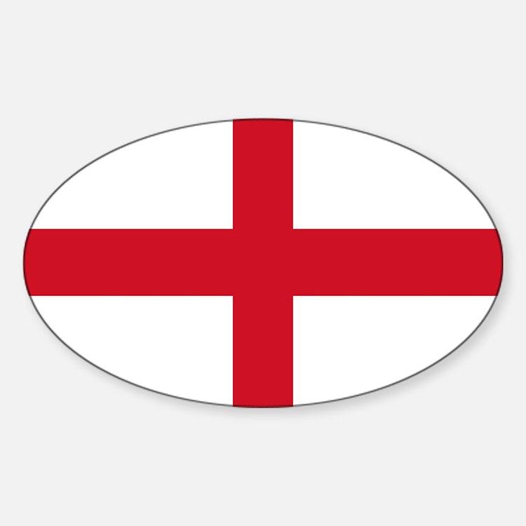 St George Cross Decal