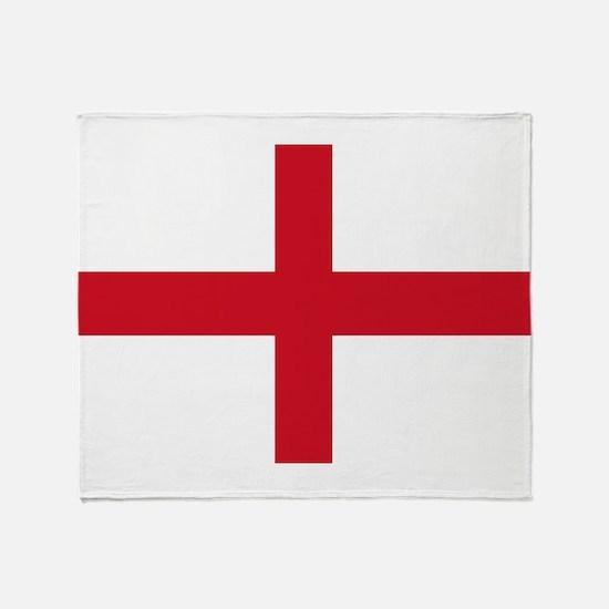 St George Cross Throw Blanket
